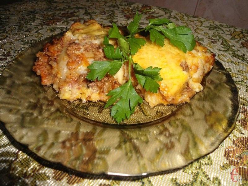 Капустяна лазанья - італійська страва на український лад.