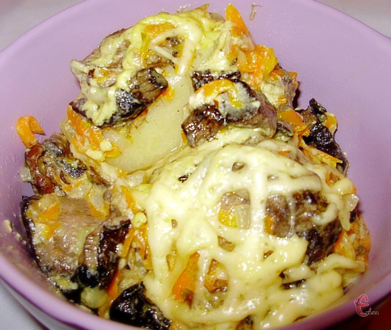 Це улюблена страва мого дитинства, саме так картоплю фарширувала моя бабуся.