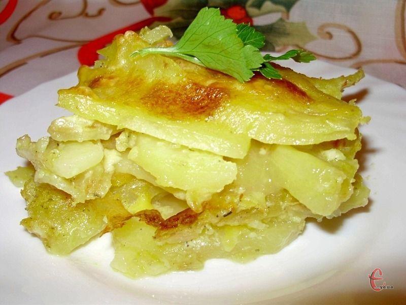 Картопля в молоці готується швидко та просто, вона дуже смачна та мегабюджетна!