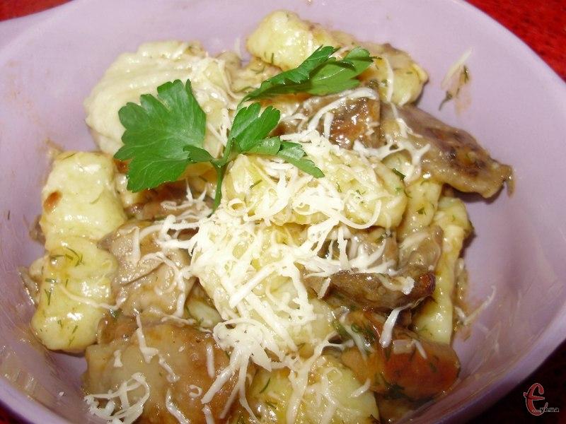 Їх ще називають «ледачими картопляними варениками» або «картопляними італійськими кльоцками».