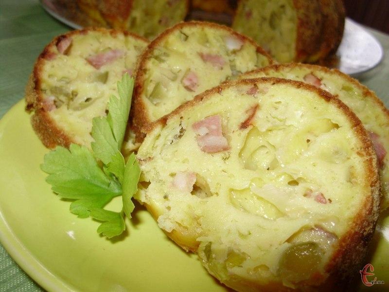 Виходить дуже смачна, легка в приготуванні й оригінальна на смак страва.