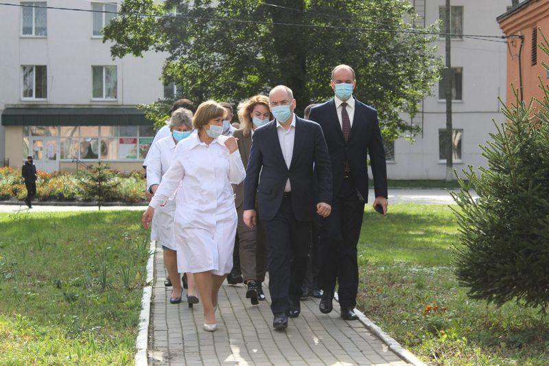Глава Міністерства охорони здоров\'я перебував з візитом на Хмельниччині вчора, 2 жовтня