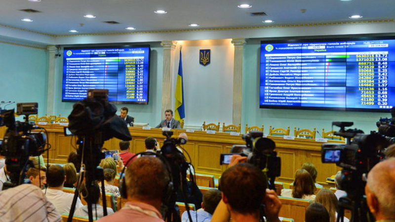 ЦВК затвердила склад виборчих комісій в Хмельницькій області