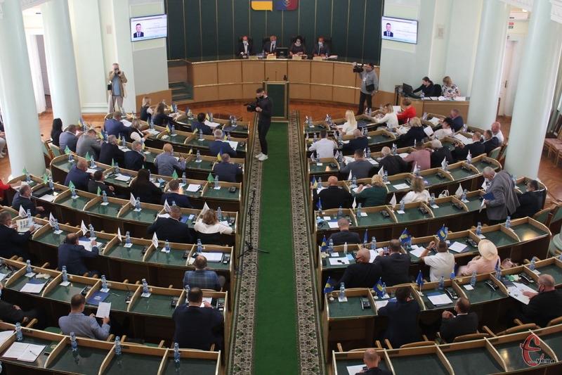 Першу сесію Хмельницької обласної ради восьмого скликання заплановано провести 7 грудня