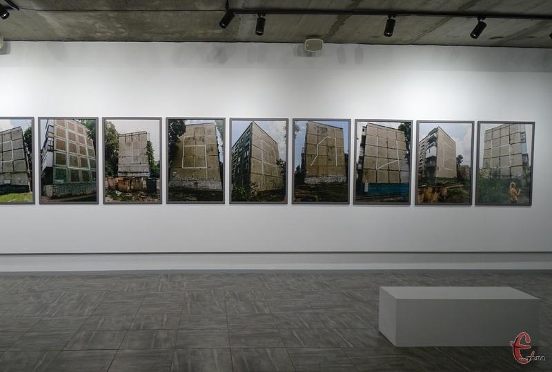 Вперше виставку «Кіптява» презентували минулого року в Дніпрі