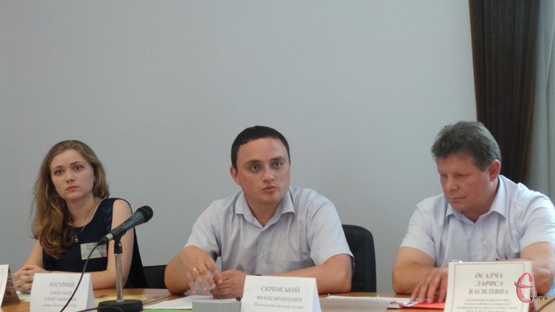 На презентації проекту було керівництво міста і району