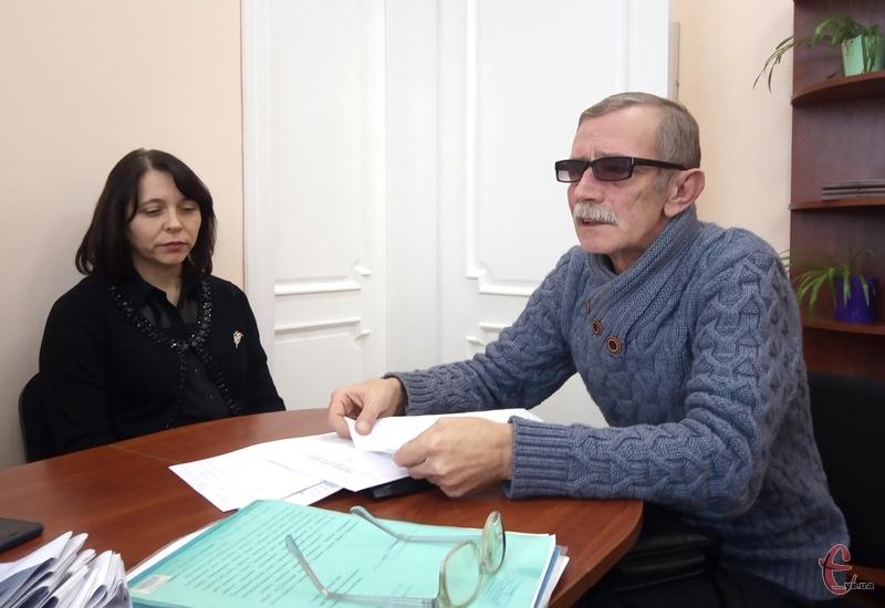 Завідувач відділенням малоінвазивної хірургії Хмельницької міської лікарні Леонід Щерба звернувся до міських депутатів