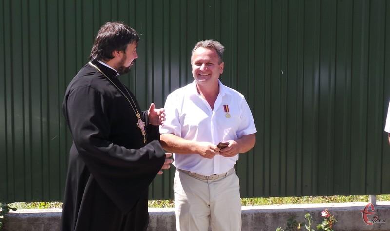 Орден «За жертовність та любов до України» заснований Українською православною церквою КП  цього року.