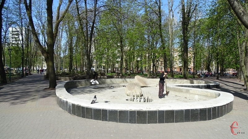 Графік роботи фонтанів поки не відомий