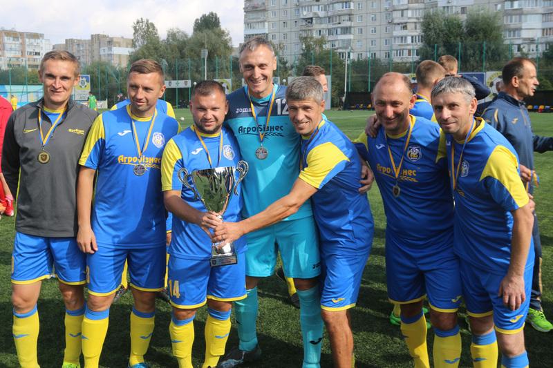 Ветеранська команда Агробізнеса другий рік поспіль стала чемпіоном України