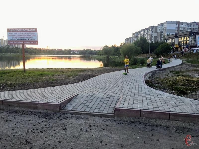 Підприємство забруднювало озеро у мікрорайоні Озерна