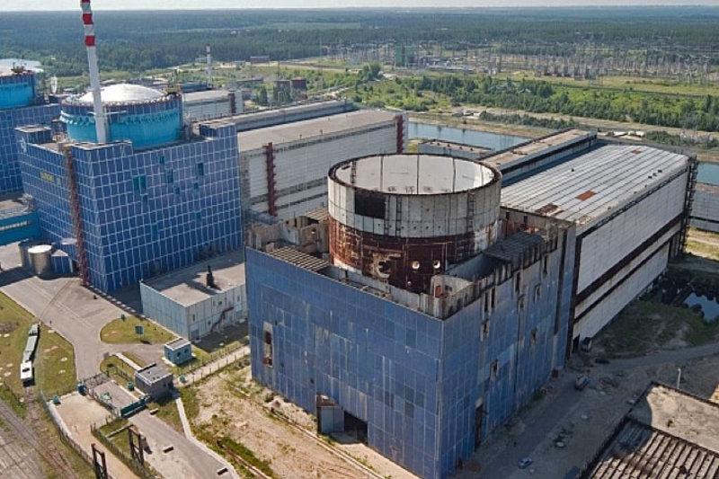 Значну кількість обладнання для будівництва 3 та 4 енегроблоків було поставлено у 1987-1997 роках