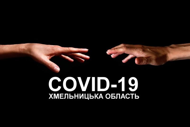 Кількість хворих на COVID-19 в Хмельницькій області зростає