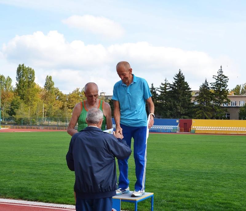 Микола Оніщук здобув першість у спортивній ходьбі