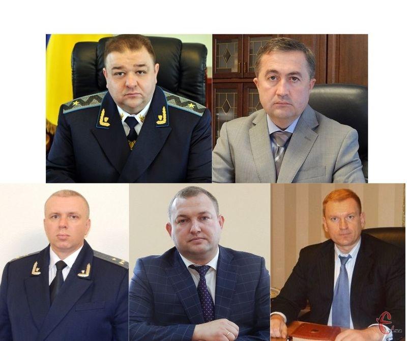 Керівництво прокуратури Хмельницької області