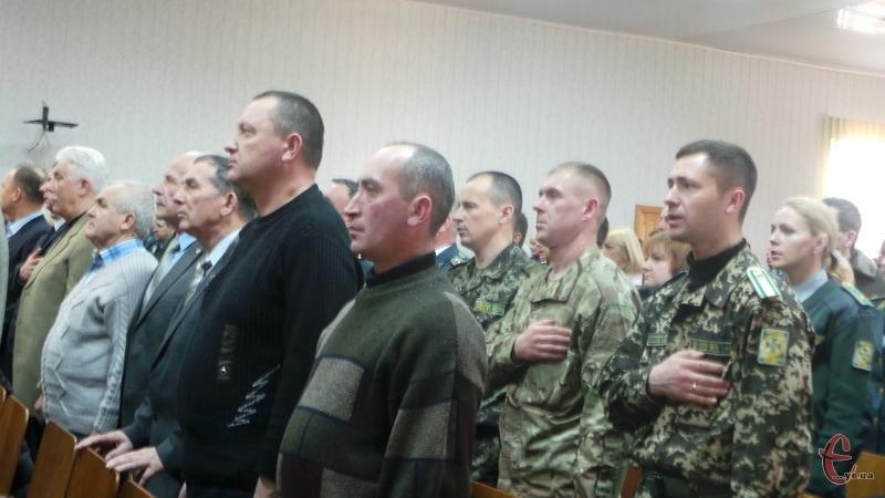 У прикордонній академії вшанували воїнів