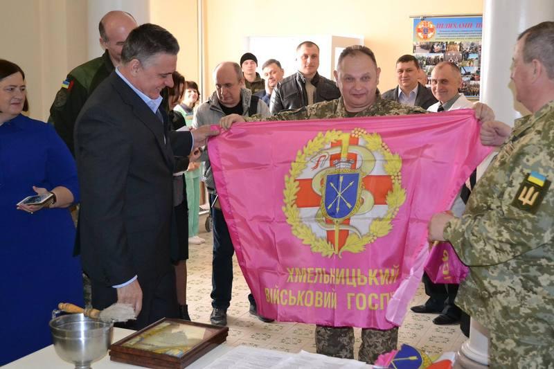 5 квітня в військовому шпиатлі Хмельницького запрацював ліфт