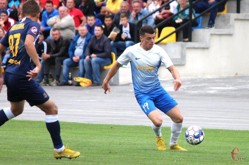 Микола Когут став автором єдиного голу в матчі проти ФК Ужгород