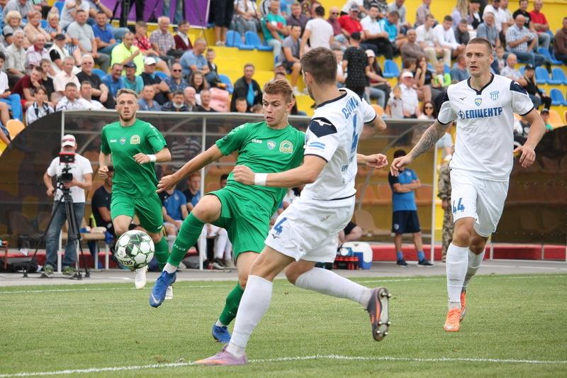 Тернопільська Нива програла в Дунаївцях Епіцентру та припинила змагатися в Кубку України