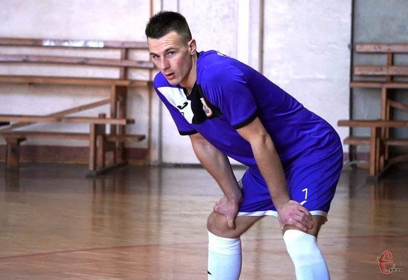Владислав  Гресь став автором єдиного голу Хмельницьких делікатесів у ворота ААФК Суми