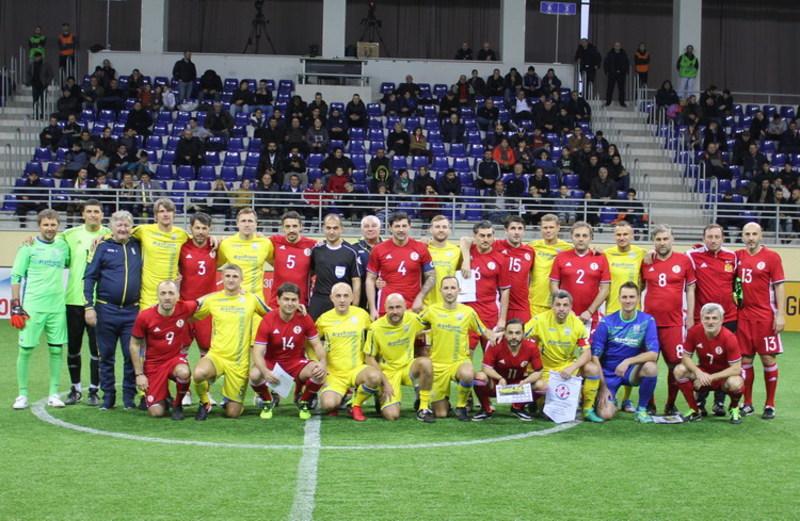 Ветеранська збірна України з футболу втретє зіграє в Кубку легенд, який розігрують у Грузії