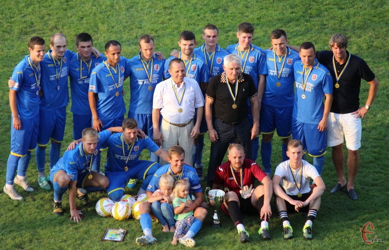 Старокостянтинівський Случ - володар Кубка області з футболу-2017