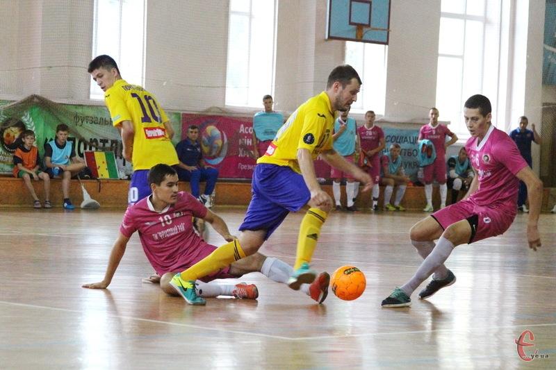 У заключному матчі групового етапу Сокіл переміг ЛТК-Інбев-НПУ з рахунком 2:1