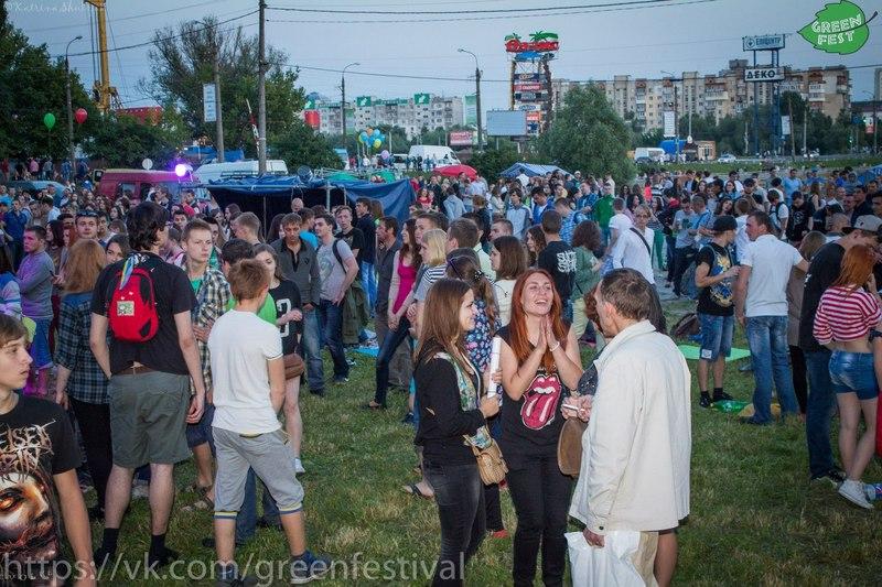 Під час GREEN FEST відбудуться концерти та інші події на пляжі