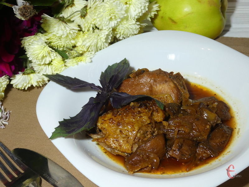 Курка з айвою — страва, що володіє дивовижним смаком і пікантним ароматом.