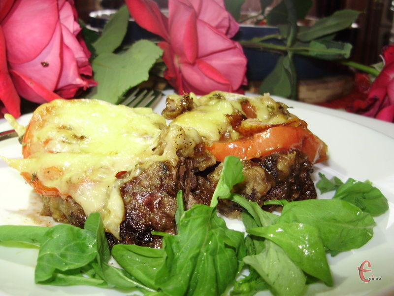 Дуже смачна, легка й швидка в приготуванні а-ля запіканка, рецептом якої зі мною поділився один знайомий шеф-кухар італійського ресторанчика.