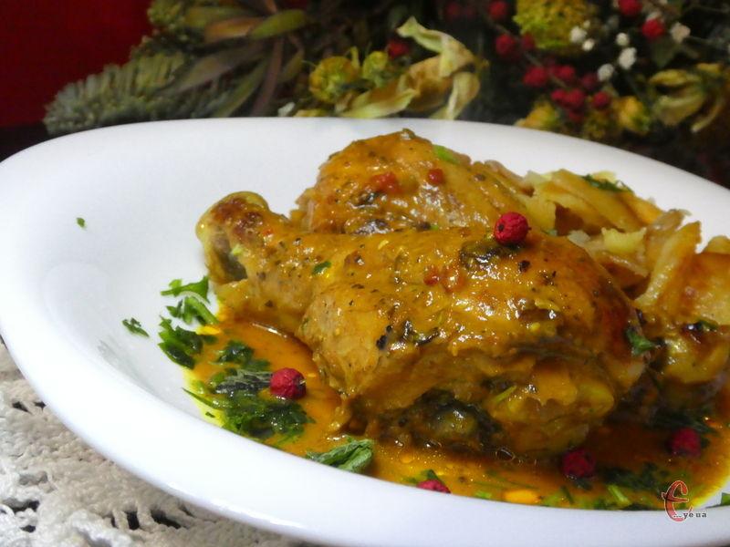 Куряче м'ясо виходить ароматним, кисло-солодким, надзвичайно ніжним!