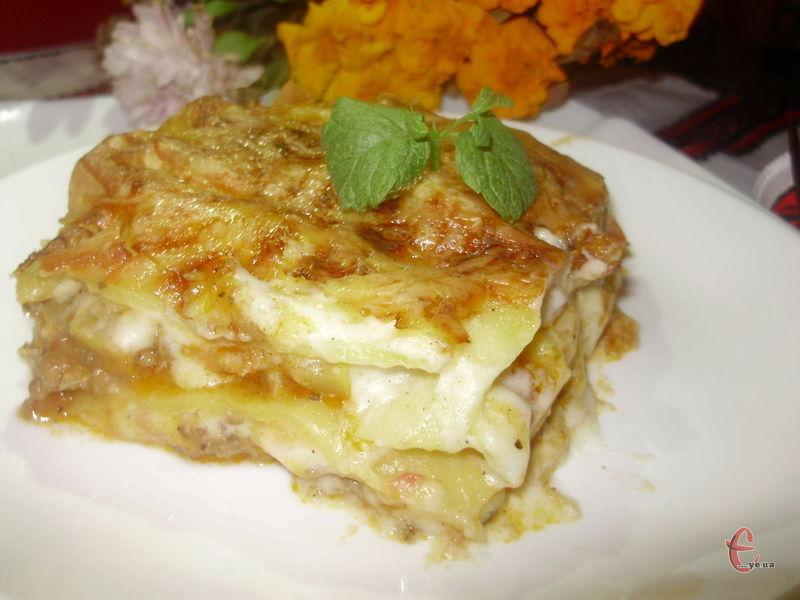 Некласичний варіант класичної популярної італійської страви.