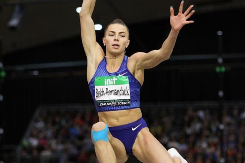 Марина Бех-Романчук не лише виграла турнір у Німеччині, а й встановила свій особистий рекорд у приміщенні