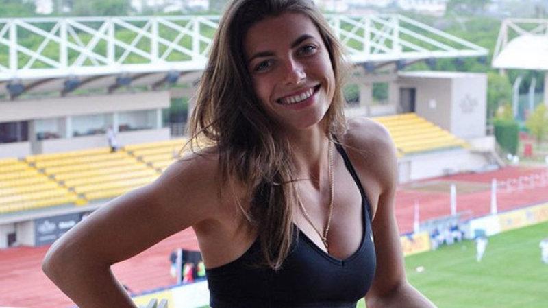 Марина Бех спеціалізується на стрибках у довжину