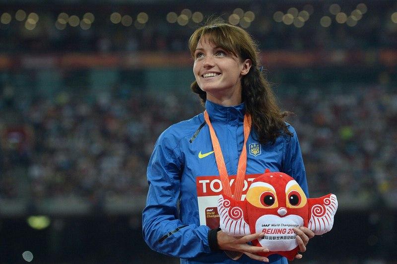 Людмила Оляновська, бронзова призерка чемпіонату світу з легкої атлетики 2015 року