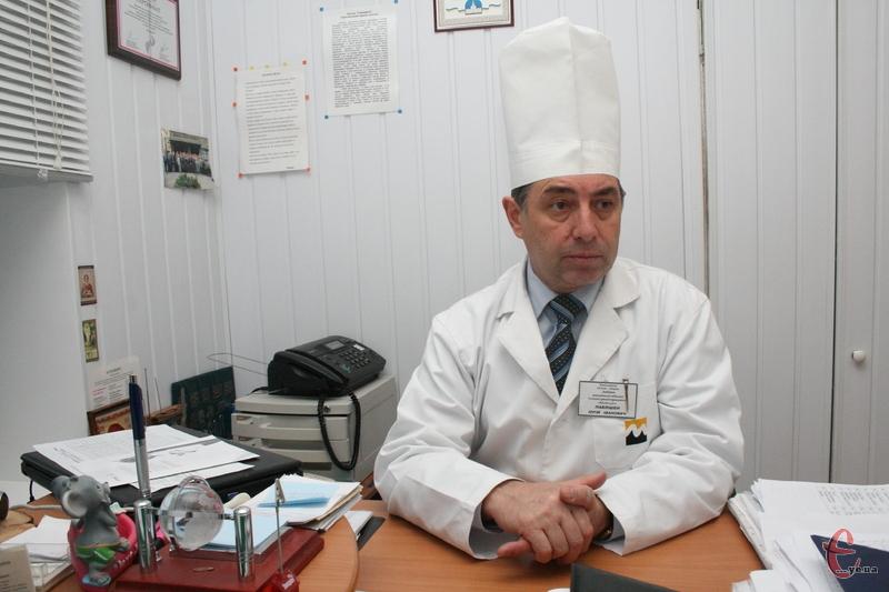 Обласний ортопед-травматолог, кандидат медичних наук, заслужений лікар України Юрій Павлішен
