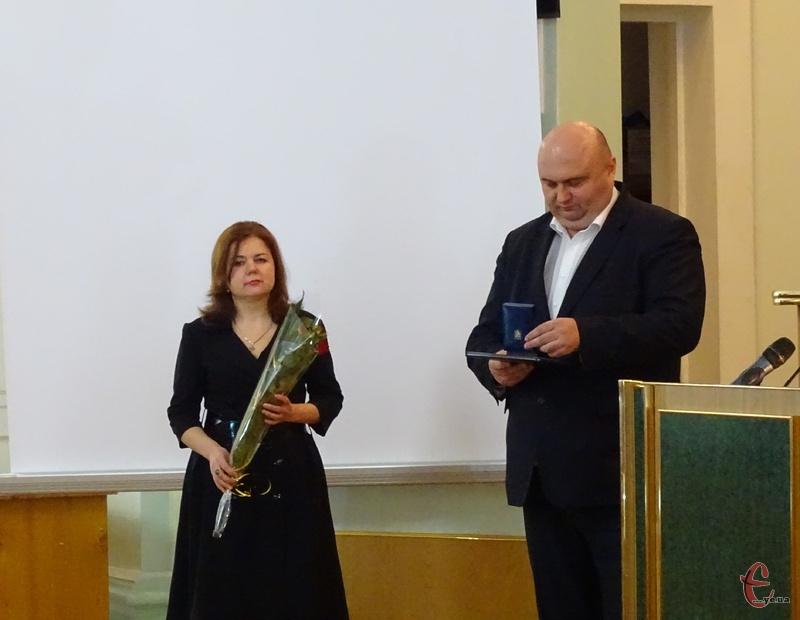 Нагороди вручав голова Хмельницької ОДА