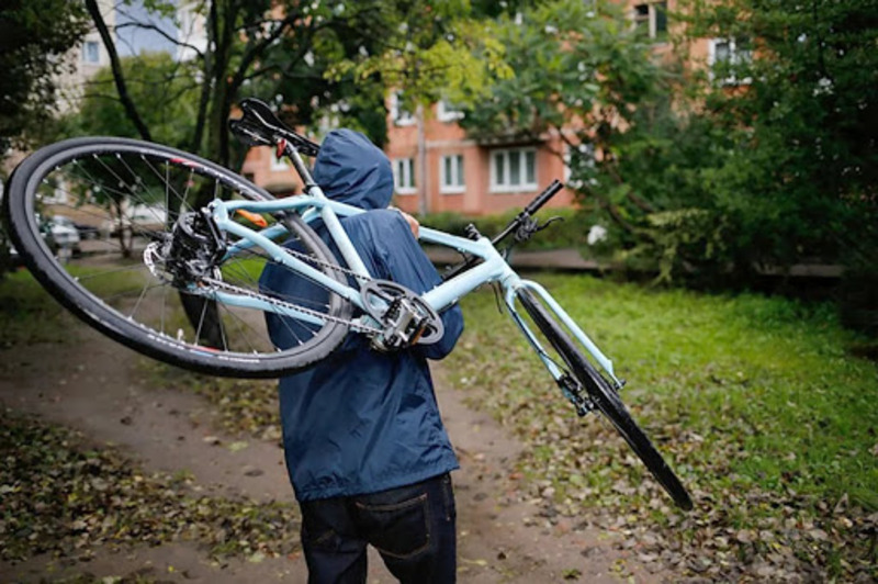 33 відсотки злочинів стаються, коли велосипеди залишають у громадському місці