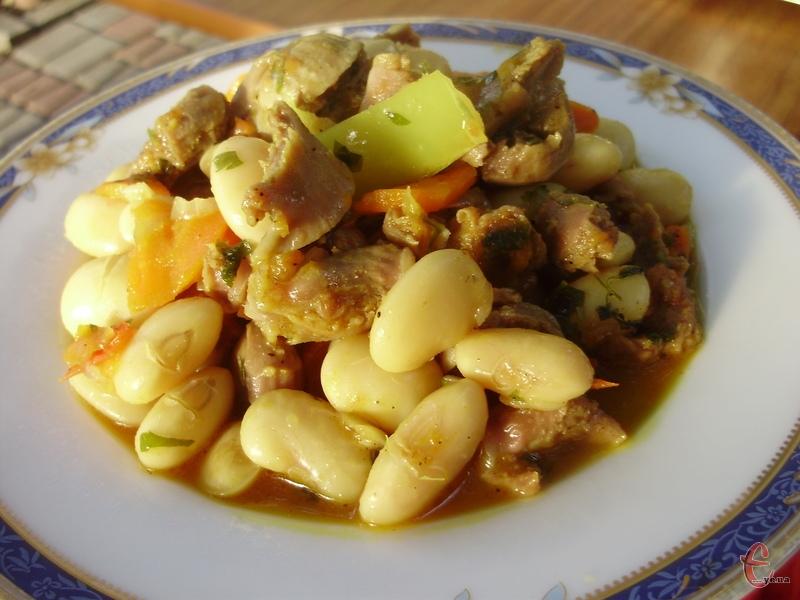 Моя імпровізація та тему грузинської кухні.