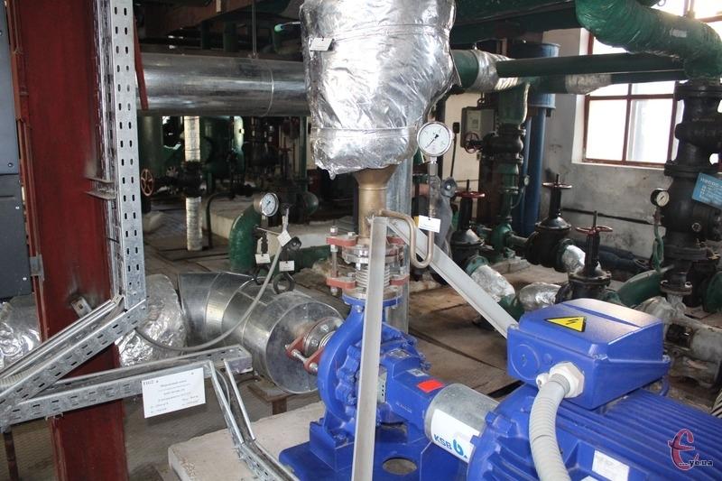 Наразі у Шепетівці відновлюють роботу комунального теплопостачального підприємства