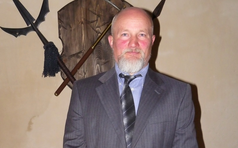 Ігор Данілов був керівником місцевого військово-історичного товариства шанувальників історії фортифікації
