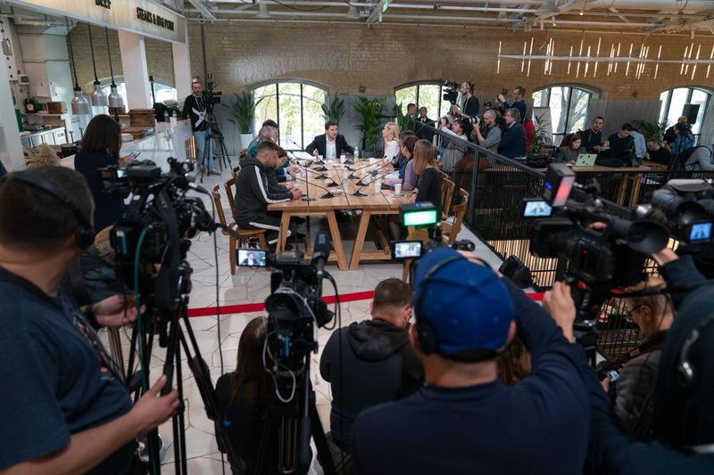Пресмарафон за участі Зеленського став однією з ТОПових новин 10 жовтня