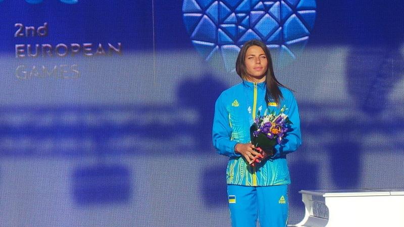 Марина Бех-Романчук на Європейських іграх здобула золоту та бронзову медалі