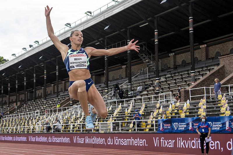 Марина Бех-Романчук за півтора тижні здобула дві перемоги та одне срібло на міжнарожних турнірах із легкої атлетики