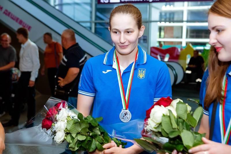 Марія Боруца визнана НОКом кращою спортсменкою України в червні