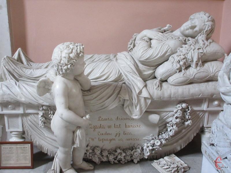 Скульптурна композиція зберігається в Кам'янець-Подільському кафедральному костелі святих Апостолів Петра і Павла. Фото: Ірини Олійнок