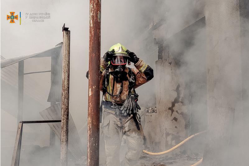 Пожежу гасло двадцять вогнеборців
