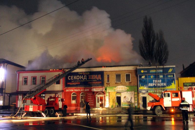 Травмованих та загиблих під час ліквідації пожежі не виявлено