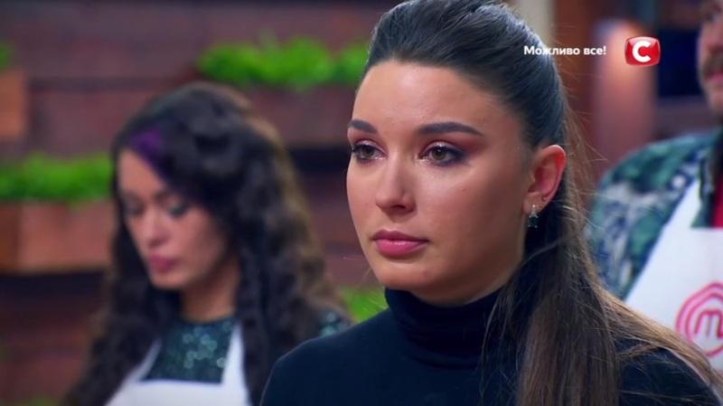 Через не вдалу страву Аліна Матвійчук вибула з проєкту