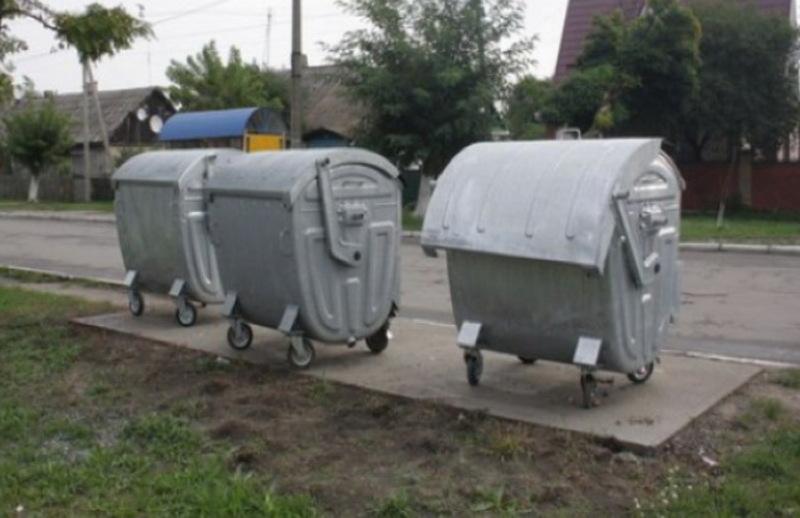 До травня Славуту забезпечать контейнерами для збору та сортування сміття